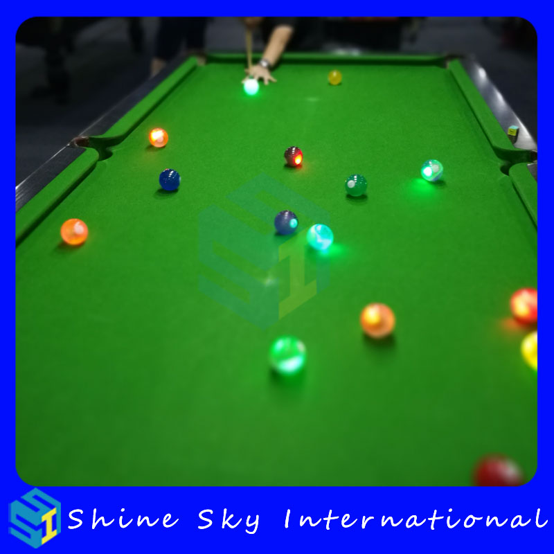 Billiard Balls With Led Light Up For Disco,Bar,Billiard Clubs Patented Product