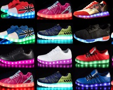 Original HIGH QUALITY with rechargeable battery led zapatillas