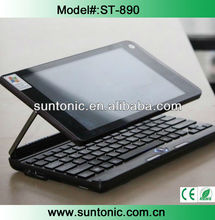 8.9 inch rotation and touched screen laptop computer with tablet and laptop functions 2 in 1