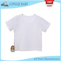 BX-TN-023 customed led baby short sleeve T-shirt wholesale