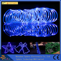 Solar Rope Lights Multi-color, String Light 100ft, Portable, Ideal for Christmas, Wedding, Party, Decorations, Gardens, Patio
