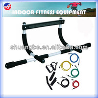 Hot Sale Door Gym Chin up Bar with Resistance Bands Set