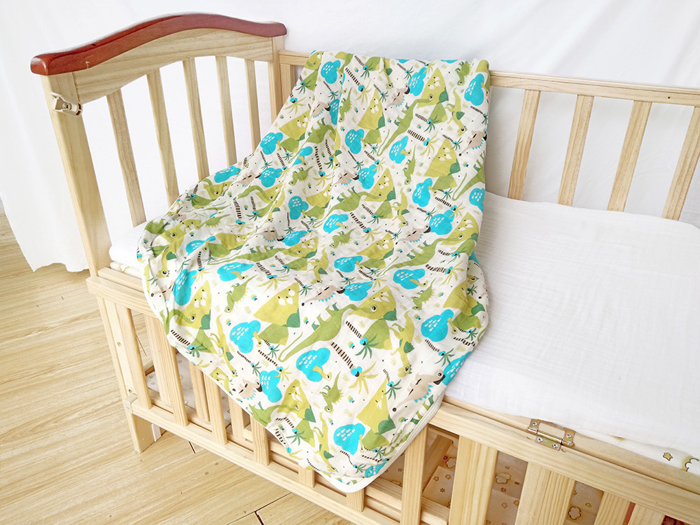 made in manufacturer 100 real spanish quilt receiving cover security indian size guangzhou baby blanket