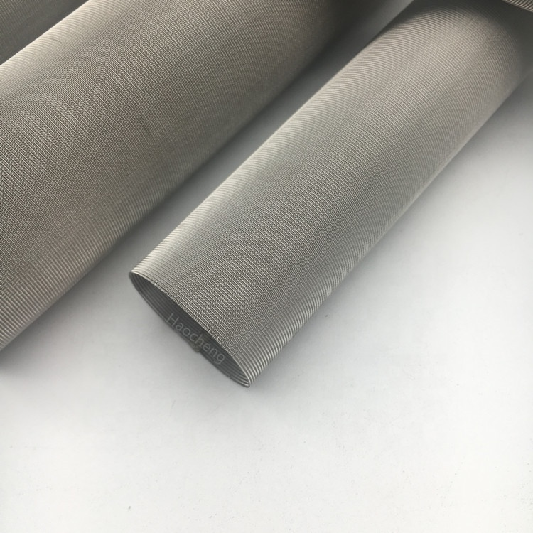 Woven mesh metal sheets stainless steel filter tube filter panel mesh