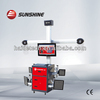 Precise 3D wheel alignment with CE & ISO Certificate