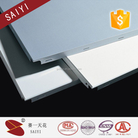 Fireproof suspended roof ceiling aluminum ceiling panel,latest building materials