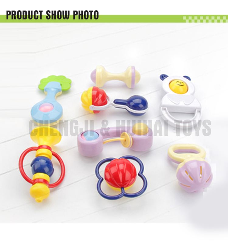 Safety quality colorful plastic teether toy silicone baby toys for babies