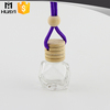 wholesale glass empty car air freshener bottle