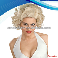 Wholesale Grade AAAAA Hot Sale sexy high quality marilyn monroe wig for white women