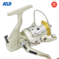 Metal Spool CM-2000 Mini Fishing Reel 5.0:1 Fishing Cheap Spinning Reels China for Summer Fishing One Touch Power Drag 6 KG