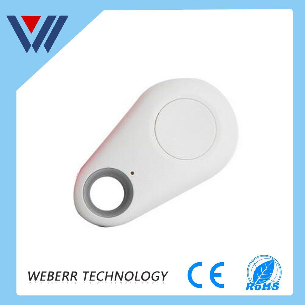 2016 Shenzhen Wireless Anti Lost Alarm Bluetooth Key Finder/key tracker Item with Built-in Selfie Remote Shutter Locator Key Tag