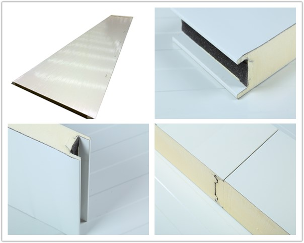 Insualted PU Sandwich Cold and Chill Store Panels For Cold Storage
