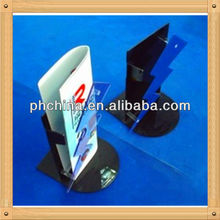 An-c619 European Design Factory Hot Sell Clear Acrylic Flyer Display Stand/Acrylic Flyer Stand/Flyer Display