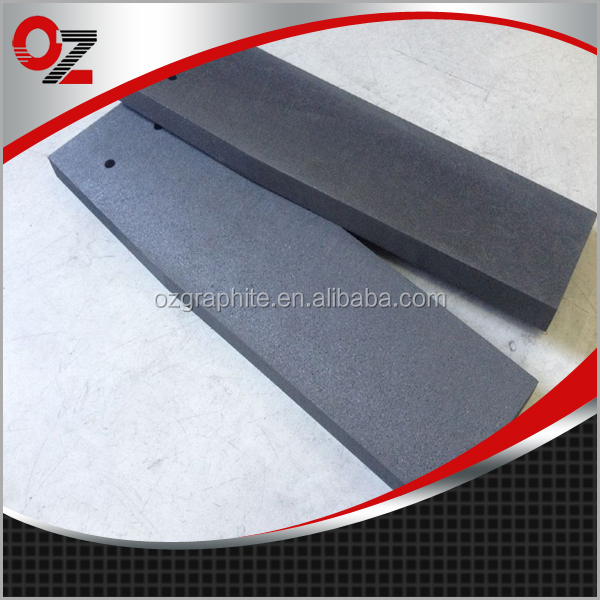 China hot sale vibrated graphite anode plate for electrolysis industry