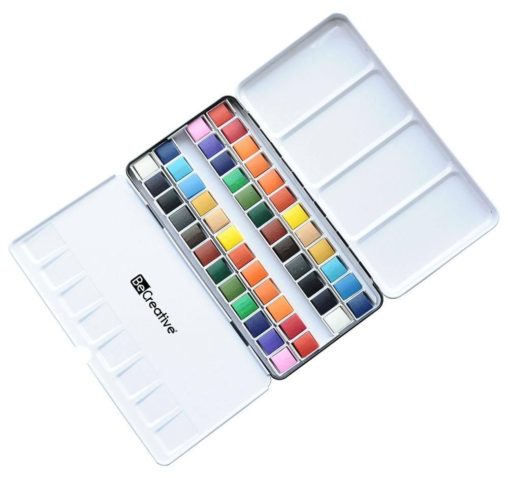 water color in different colors fashion watercolor paint set non-toxic diy watercolor paint ,free sample watercolor
