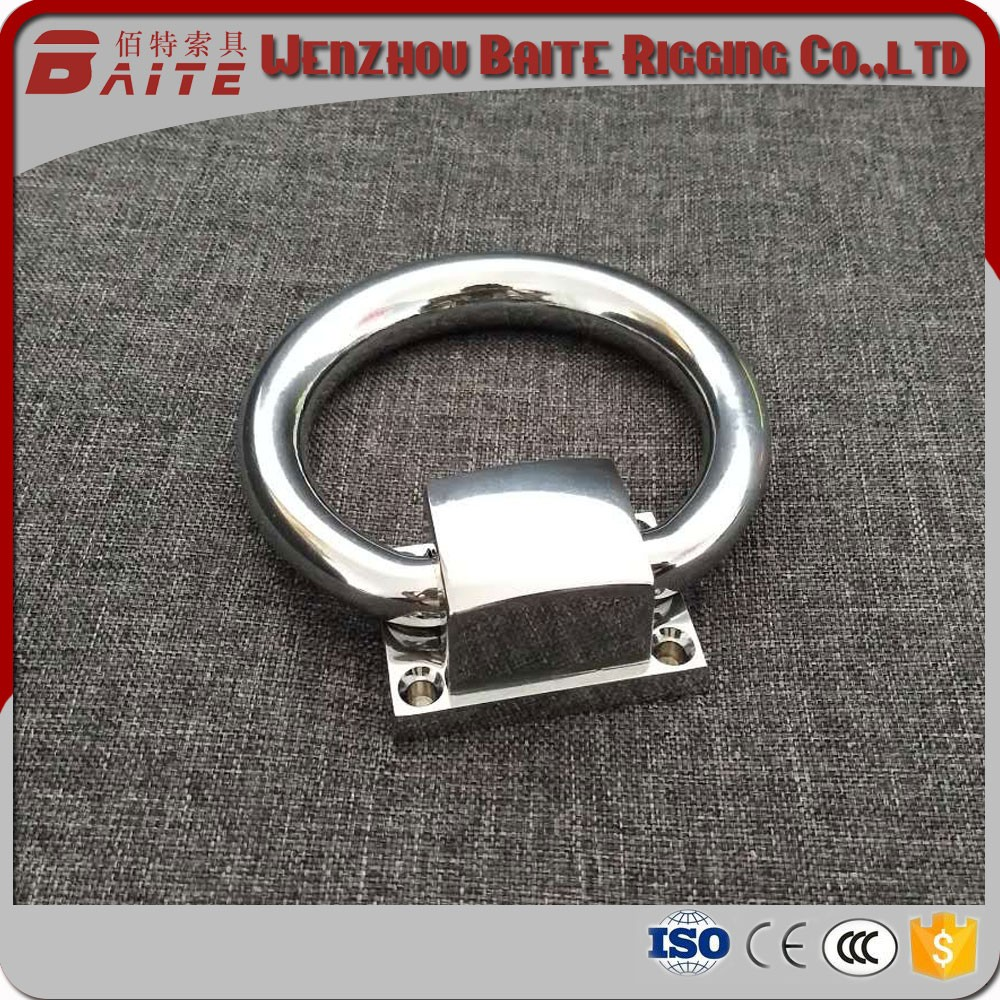 Fashional furniture chrome plated pull ring / ring door handle for chair