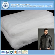 Wholesale High Loft Washable Polyester Cotton Wadding/Padding for Garment Interlining Batting