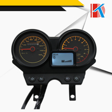 2016 Cool design with good price 12V black universal digital motorcycle speedometer