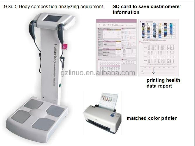 Latest innovative products best body composition analyzer import from China
