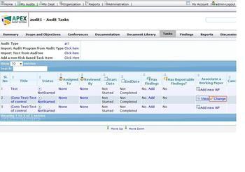 Trading system audit