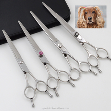 Adjustable stone pet grooming scissors with high quality QJ-JP26