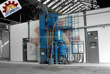 descaling steel Mechanical Automatic Blasting and Painting Booth/Room/Chamber/Equipment