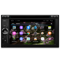 Android 2 din touch screen car multimedia Radio DVD TV GPS player audio car stereo