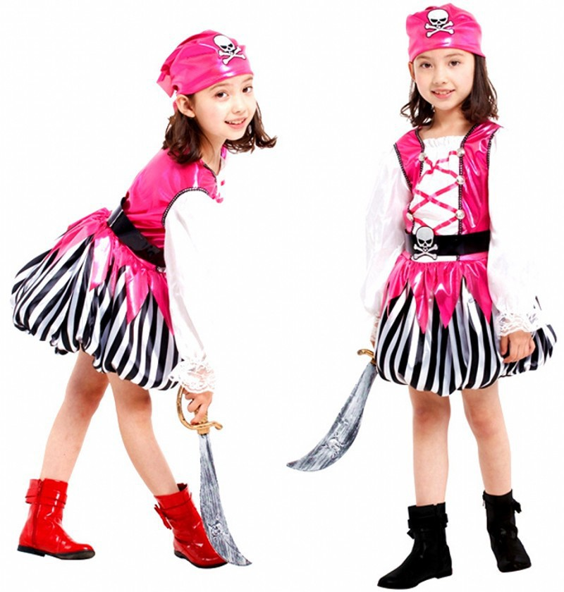 get quotations pirate costume kids for girls pirate party christmas carnival costumes for kids children halloween costumes for