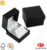 Luxury square plastic jewelry box with paper packer