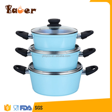 Factory Customized customized color Made Non-stick Casserole Hot Pot