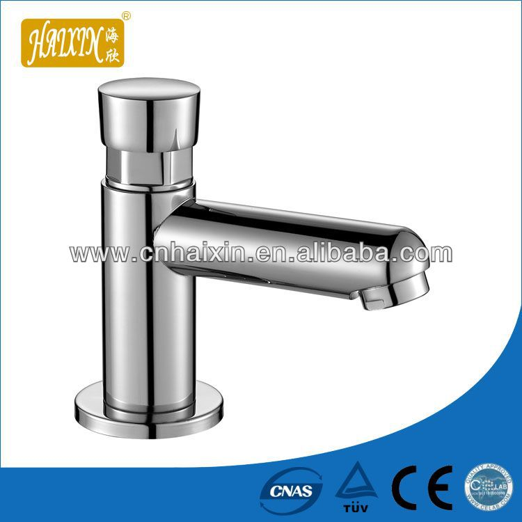 Polished Brass Waterfall Faucet