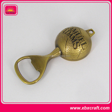 High quality custom antique bronze bottle opener with engraving