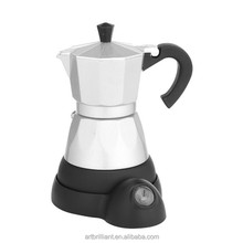 Italy moka espresso coffee machine cooks coffee espresso maker