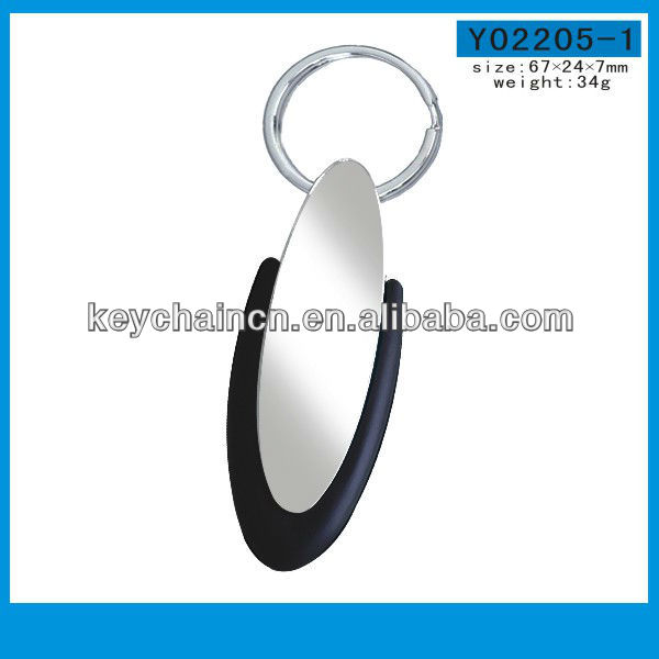 Creative Useful Blank Rubber Keychains Wholesale PVC Keyring colorful Key ring