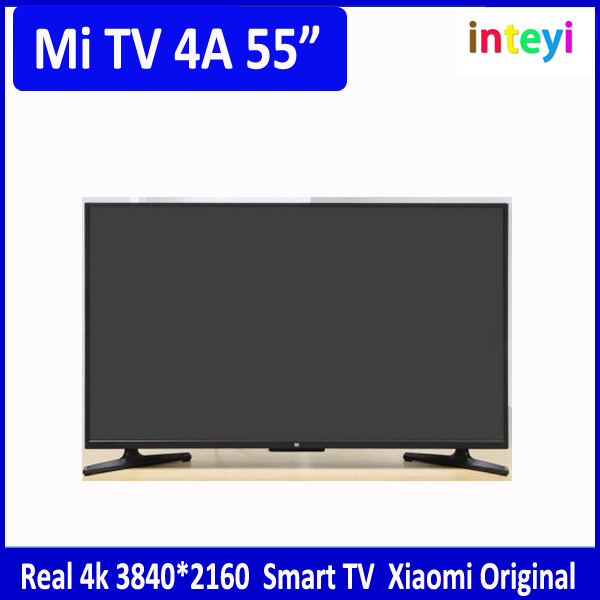 "New Xiaomi TV 4A Mi TV 4A 55"" inch Smart 3840*2160 Real 4k 2.4/5GHz Ultra Thin BT4.2 televison"