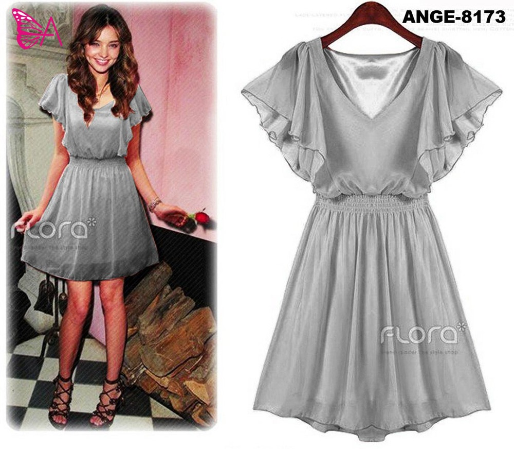ANGELA -8173 chiffon dress