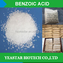Industry or food grade sodium benzoate Benzoic acid