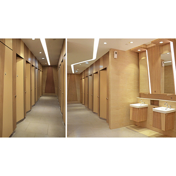 Luxury Grace commercial fittings for toilet partition