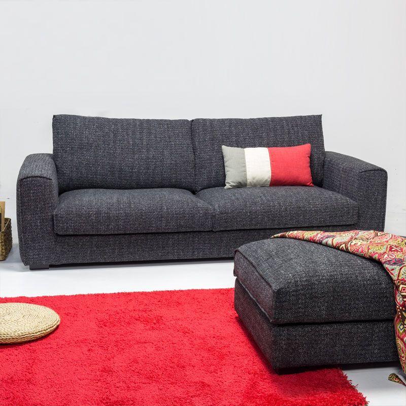 Classic Comfortable Fabric Sofa Design Elegant Luxurious