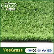 15mm pile height green decorating PP grass front lawn UK