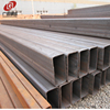 Big out diameter low carbon thick wall structural rectangular steel pipe