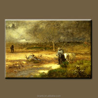 BC13-10296 Home decor paintings for sale beautiful natural scenery impressionist landscape oil painting