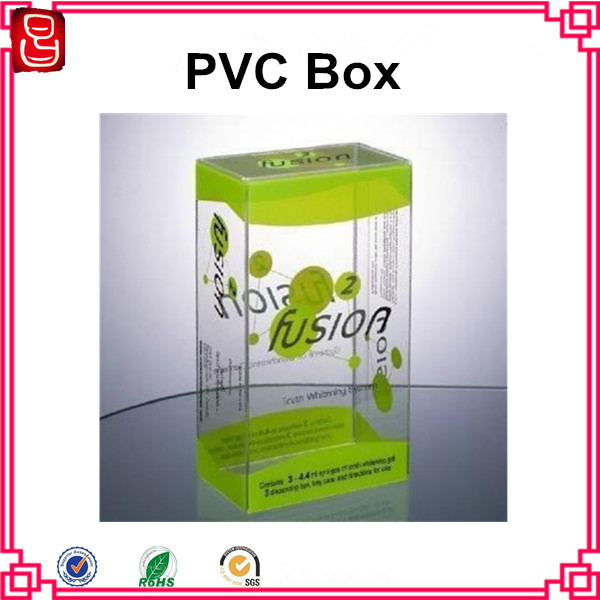 Promotional plastic pet clear box