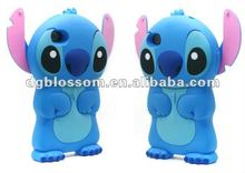 New silicone cartoon stitch mobile phone covers