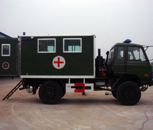Dongfeng 4x4 Off-Road Military Ambulance Car Price 4WD Emergency Medical Vehicle For Sale