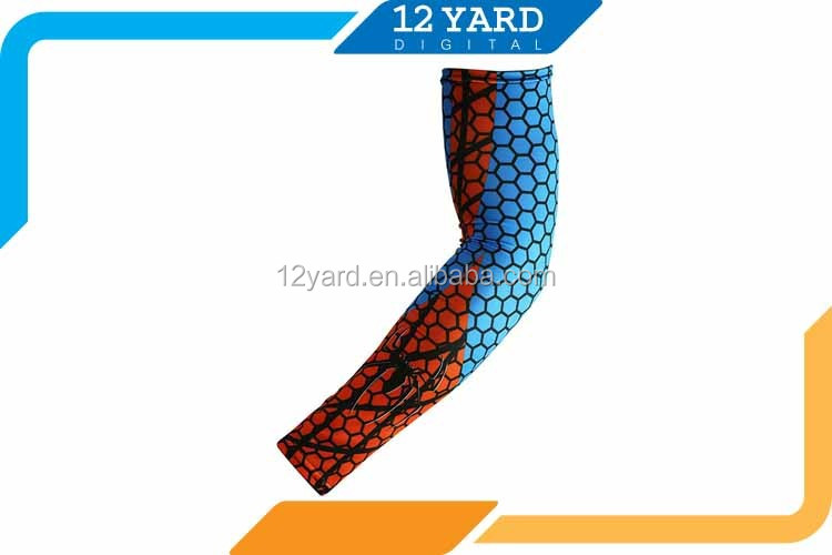 custom basketball association printed cooling sport arm sleeve