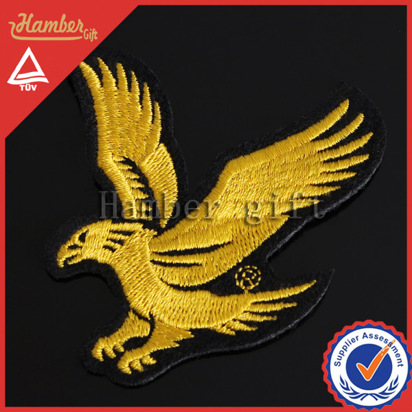 Flying eagle animal chenille patches