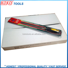 T12 high Carbon steel hardness double blister pack machinist half round file