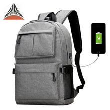 Wholesale Fashion Travel Mens Custom Business Laptop USB Charging School Backpack Bag