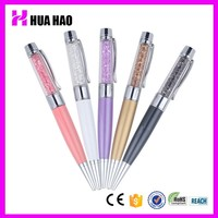 Top quality crystal pen with usb flash drive innovative usb pen for business gifts